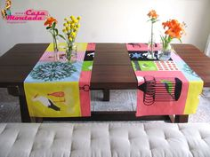 No sewing table runner