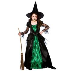 Emerald Witch (Deluxe) - Kids Costume 5 - 7 years Wicked http://www.amazon.co.uk/dp/B00F9H1FQC/ref=cm_sw_r_pi_dp_gaaMub01PC95T