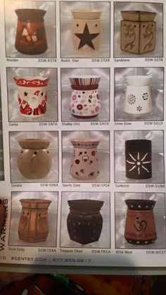 Fall 2007 catalog page Scented Wax, Scentsy, Product Launch, Mugs, History, Tableware, Catalog, Fall, Autumn