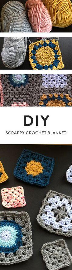 99 besten Häkelbar Bilder auf Pinterest Crochet squares, Crochet