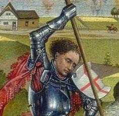 Weyden, Rogier van der     Netherlandish, 1399/1400 - 1464  Saint George and the Dragon c. 1432/1435