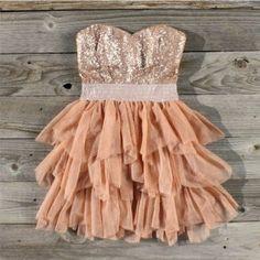 Ruffles  Rust Dress my-style