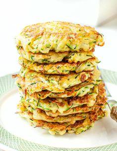 Placki z cukinii My Pie, Kid Friendly Meals, Vegan Vegetarian, Quiche, Good Food, Food And Drink, Veggies, Favorite Recipes, Snacks