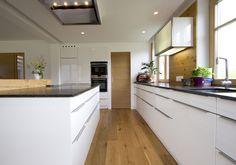 Eingang zur Speise, clever integriert in die Küchenplanung