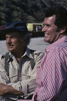 The Rockford Files - James and his father 'Rocky'.