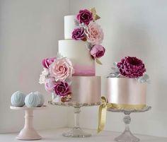 Blush pink lustre watercolour roses, peony