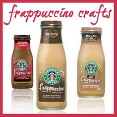 Frappuccino Bottle Crafts - It's So Very Cheri