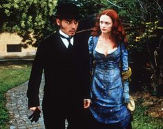 Frederick Abberline. Mary Kelly. Johnny Depp. Heather Graham. From Hell.