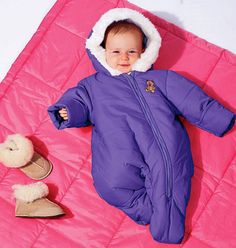 Baby Bunting Pattern, Infant Snowsuit Pattern, Sz Nb to Xlrg, McCalls 6635 sewing pattern. future pattern wishlist