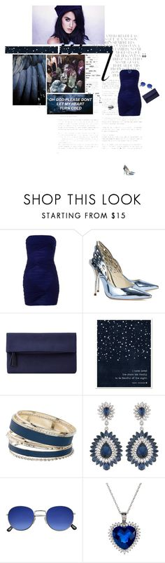 """""""So cold"""" by amber-daylight ❤ liked on Polyvore featuring Whiteley, Lipsy, Sophia Webster, John Lewis, Dorothy Perkins and Carolee"""