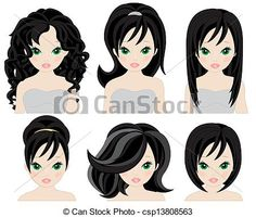 hairstyles for black hair - csp13808563