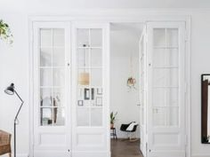 Apartment interior with classic doors - Buy this stock photo and explore similar images at Adobe Stock Divider, Furniture, Garden, Home Decor, Garten, Decoration Home, Room Decor, Lawn And Garden, Home Furnishings