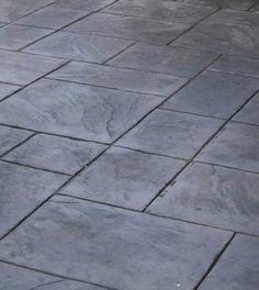 Slate Concrete Floor