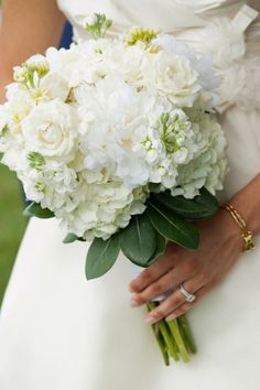 Hydrangea bouquet - bridesmaid @Katiyah Ceynowa