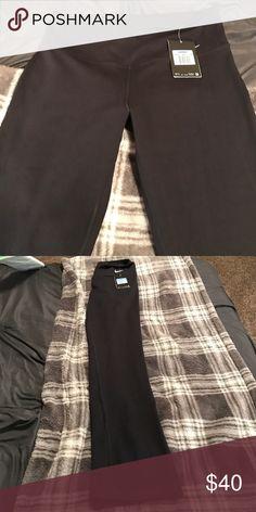 Nike yoga pants New with tags, women's black training Nike pants. Dri fit fabric Nike Pants Track Pants & Joggers