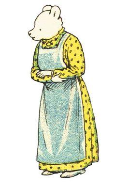 Rupert's Mother, Mrs. Bear.