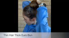 Crown Hair Extensions, Human Hair Extensions, Hair Breakage, Thin Hair, Messy Bun, Bun Hairstyles, Human Hair Wigs, Beautiful