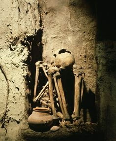 """Ruled by Mayan death gods, Xibalba or """"place of fear,"""" consisted of a network of caves, stone rooms and other spooky subterranean structures. Death God, Underground Cities, Visual Aids, Central America, Dungeons And Dragons, Creepy, Urban, Adventure, City"""
