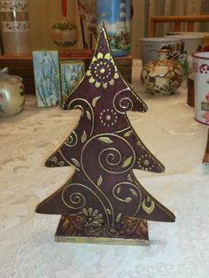 ΞΥΛΙΝΟ ΔΕΝΤΡΑΚΙ SMALL CHRISTMAS WOOD TREE