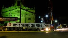 Velatorio Pedro Lemebel en iglesia de la recoleta Santiago de Chile