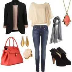 city chic...what i would wear if money was not an issue.  this polyvore thing is super addicting! I could create outfits all day!