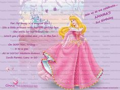 Disney Princess Invite