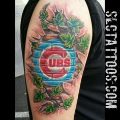 Jake did this Cubs skinripper.