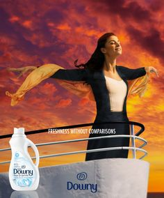 Adv for Downy/Lenor
