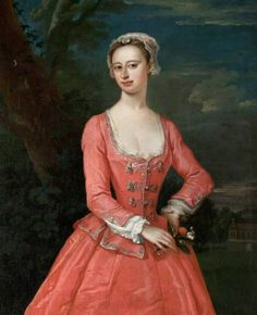 """""""Portrait of a Lady"""" attributed to Jonathan Richardson the Elder (1730)"""