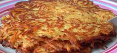 Zemiakové placky: chutný a rýchly obed - Manžel si pochvaľuje, aké sú chrumkavé - radynadzlato.sk Lasagna, Ethnic Recipes, Food, Essen, Meals, Yemek, Lasagne, Eten