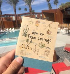 ARRIVE travel guide to Palm Springs - travelers and locals that reflects the surrounding style, food, drinks and culture.