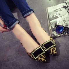 Comfy n cute shoes u will luv it!!  Rm 69.00 sale now   RM39.00  New ready stok !!!  Postage rm 10 for wm For em rm 8  Limited edition    Leapord  Size frm 35 36 37 38 39