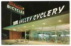 Valley Cyclery, Schwinn Bikes, San Fernando Valley Got my 9th grade birthday present from here.  An orange boys ten speed with black handlebar tape.