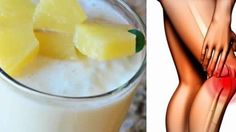 Nice Pineapple, Cinnamon And Oats Smoothie For Strengthening the Tendons and Ligaments on Your Knees