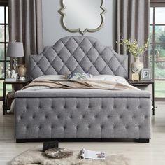 bedroom furniture – My WordPress Website Bed Headboard Design, Bedroom Bed Design, Bedroom Furniture Design, Headboards For Beds, Bed Furniture, Home Decor Bedroom, Bedroom Ideas, Master Bedroom, Platform Bed Frame
