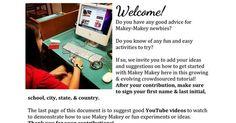 Makey Makey Crowdsourced Tutorial | iGeneration - 21st Century Education (Pedagogy & Digital Innovation) | Scoop.it