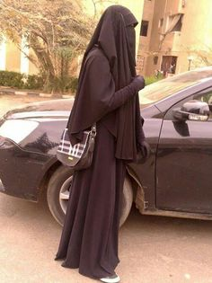 Niqab with Khimar