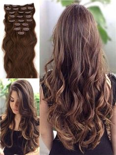 100% human hair extension give you a perfect hairstyle!