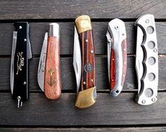 Gentlemen carry a pocket knife...