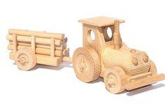 Holzspielzeug Ökologisch 6 Modelle Auto Roller Zug Flugzeug Kinder Holzauto