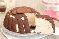 Zuccotto al caffè e cioccolato freddo senza cottura cremosissimo