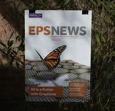 EPS News magazine for The University of Manchester. We wrote and designed the whole publication. University Of Manchester, Multi Disciplinary, News Magazines, Marketing, Writing, Design, Being A Writer