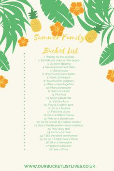 Summer Family friendly bucket list of things to do and see. Your checklist for the summer. If you click on the link it will take you over to my list of Family Friendly What's on Summer 2017 – Lincolnshire, Nottinghamshire, Leicestershire and Derbyshire