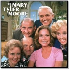 """""""Mary Tyler Moore Show"""" - Ed Asner, Mary Tyler Moore, Ted Knight, Gavin MacLeod, Georgia Engel and Betty White. Best Tv Shows, Favorite Tv Shows, Movies And Tv Shows, Favorite Things, Ted Knight, Mary Tyler Moore Show, Childhood Tv Shows, Baby Boomer, Betty White"""