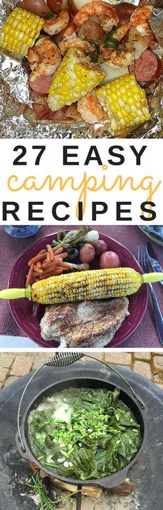 Getting ready for a weekend camping trip? Here are 27 easy, no-hassle, camping-friendly recipes that everyone will love!