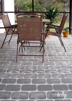 Exceptional I Did This To My Patio Floor About Three Months Ago, But Iu0027m. Brick PatiosConcrete  PatiosFaux ...