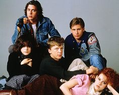 80s brat pack | ... Reasons Why John Hughes Rocked The 80s | He Co-Created the Brat Pack