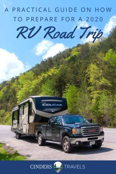 Considering an RV vacation? You may have noticed a slew of articles recently proclaiming 2020 as the year of an RV road trip vacation! If you're considering hitting the open road, here are some tips on how to navigate the current differences, so you can make the most of your social distancing road trip! Road Trip Packing, Road Trip Essentials, Road Trip Hacks, Road Trip Usa, Packing Tips For Travel, Travel Advice, Camping Stuff, Rv Camping, Camping Spots