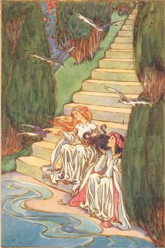 THE LILY OF LIFE BY THE QUEEN OF ROUMANIA ILLUSTRATED BY HELEN STRATTON HODDER AND STOUGHTON 1913