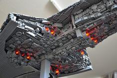 Epic LEGO STAR WARS Executor Super Star Destroyer
